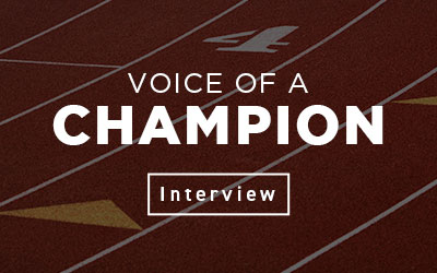 Voice of a Champion Interview
